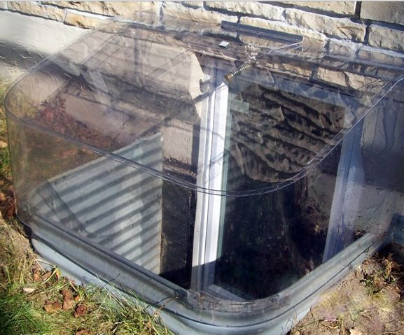 clear bubble window well cover crs waterproofing aurora il