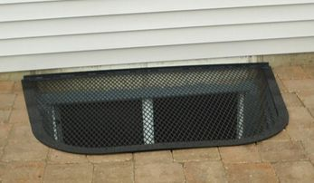metal grate window well with lexan cover crs waterproofing aurora, il